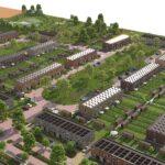Impressie nieuwe wijk Almere